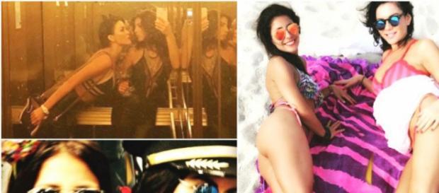 Las chicas se divierten en Miami