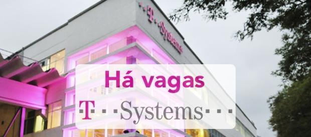 Vagas na multinacional T-Systems.