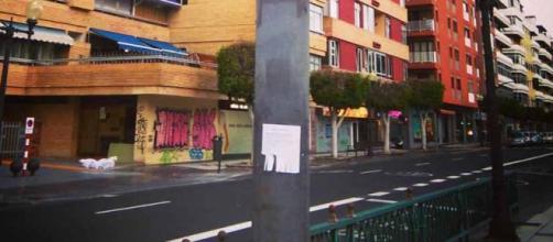 Avenida de Las Palmas de Gran Canaria.