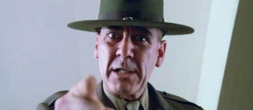 """Il sergente Hartman in """"Full Metal Jacket"""""""