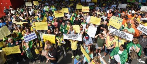 Pessoas agrediram militantes petistas