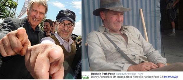 Harrison Ford & Steven Spielberg - Indiana Jones