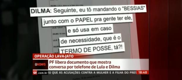 Ligação entre Dilma e Lula é revelada