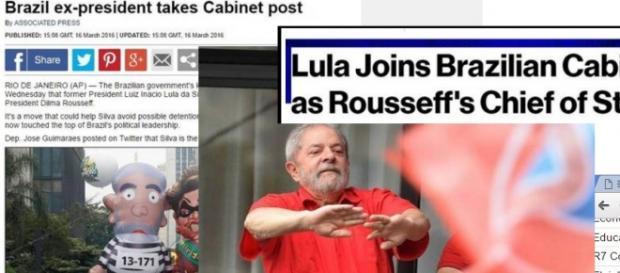 Mídia Internacional divulga Ministério de Lula