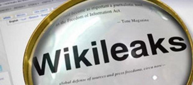 Nell'immagine: sito web di Wikileaks