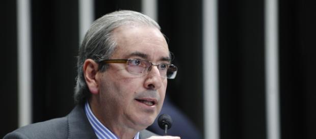 Presidente da Câmara dos Deputados, Eduardo Cunha.