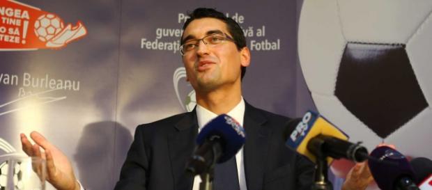 Răzvan Burleanu, preşedintele FRF