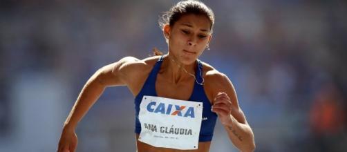 Ana Cláudia Lemos foi flagrada no teste de doping