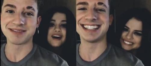 Aquí hay amor, Selena Gómez y Charlie Puth posan juntos