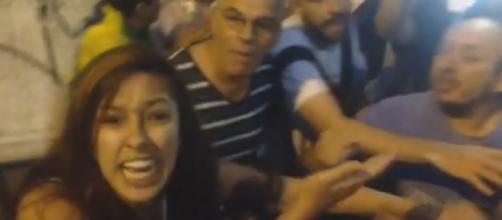 Casal é agredido durante manifestações