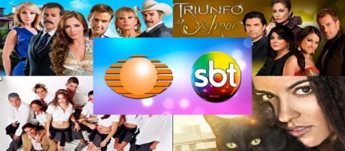 Novelas mexicanas que podem ir ao ar no SBT.