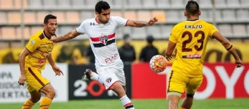 São Paulo não saiu do empate frente ao Trujillanos