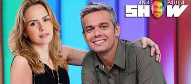 Ana Paula e Otaviano Costa - Foto/Montagem