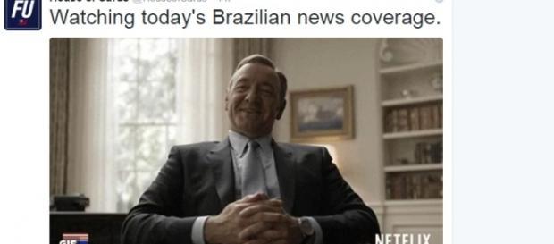 Brasil vira motivo de piada mundial
