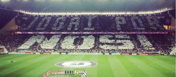 Casa cheia para Corinthians x Linense.