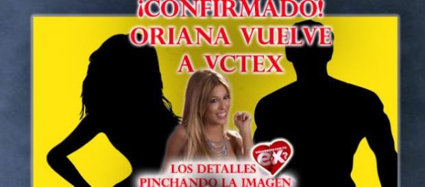 El regreso de Oriana Marzoli a #vctex