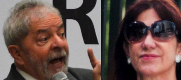 Ex-presidente Lula e amiga Rosemary Noronha.