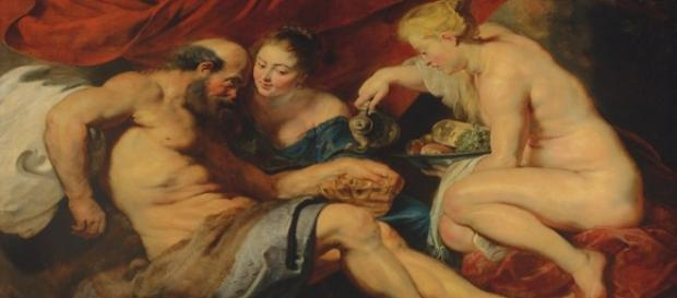 "Rubens' ""Lot and his Daughters"" Creative Commons"