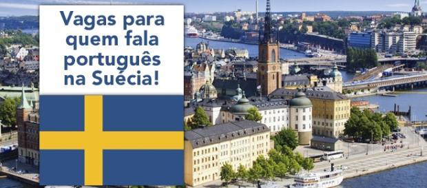 Vagas na Suécia para quem fala português
