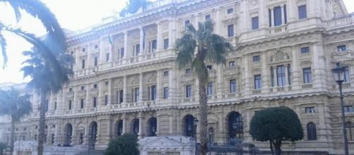 Corte di cassazione, piazza Cavour Roma