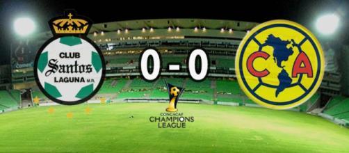 Santos y América empatan a cero en la semifinal
