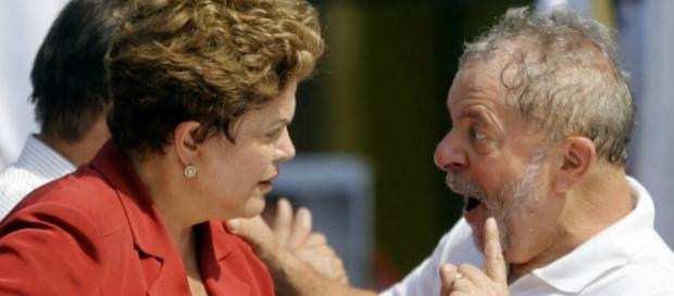 Dilma e Lula - Foto/Reprodução: Internet
