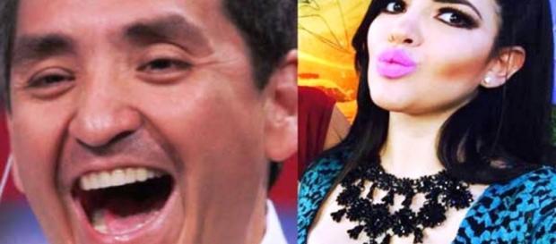 Ernesto Chavana y Bárbara Alejandro. Foto Facebook