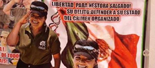 Liberan a Nestora Salgado, líder de autodefensas