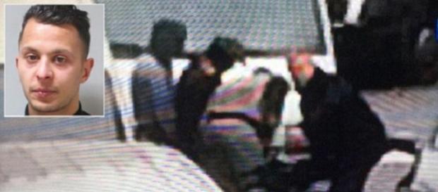 Momentul arestării lui Salah Abdeslam