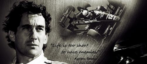Ayrton Senna/ Photo: Angelo Gargano (Flickr)