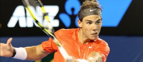 Nadal beat Nishikori 6-4, 6-3 (Wikipedia)