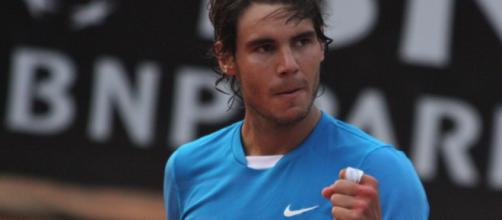 Rafael Nadal at a tournament in 2011 (Flickr)