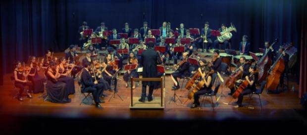 Atlantic Coast Orchestra em concerto
