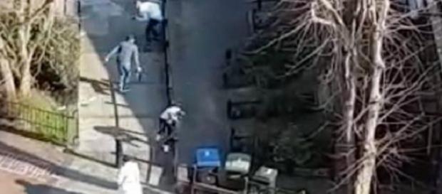 Imagini cutremurătoare cu atacul din Londra