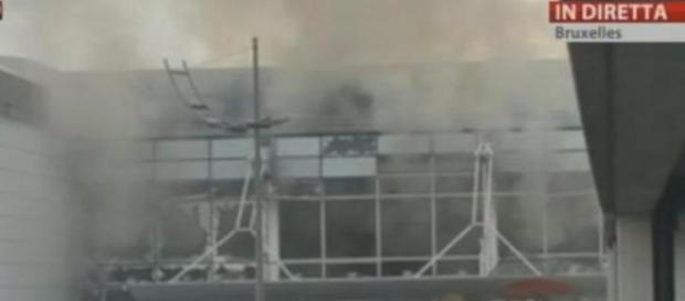 L'esplosione terribile all'areoporto di Bruxelles
