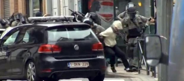 La detención de Salah Abdeslam