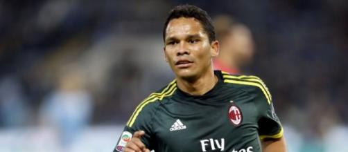 Carlos Bacca couldn't save A.C. Milan this time