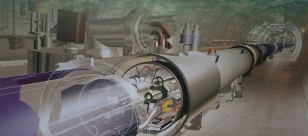 Acceleratorul de particule de la Geneva al CERN
