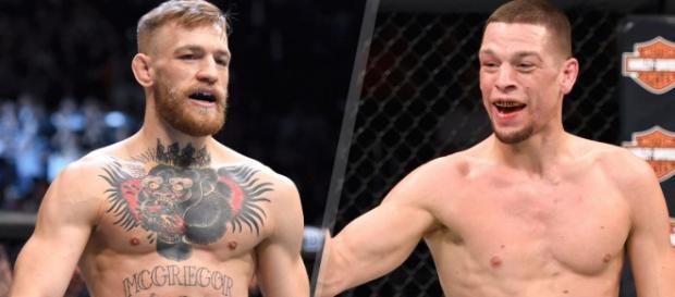 McGregor e Nate Diaz se enfrentarão no sábado