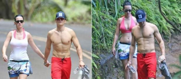 O destino escolhido pelo casal foi o Havai