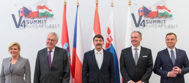 Przywódcy państw regionu. (Źródło:Facebook A.Duda)