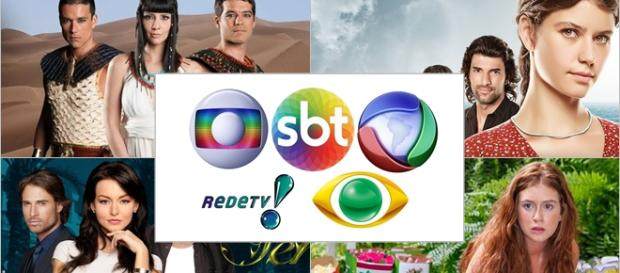 TV aberta disputa público com a TV paga.