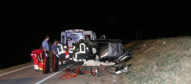 Un accident violent a curmat viața unei românce