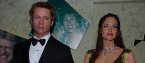 Gli attori americani Brad Pitt e Angelina Jolie
