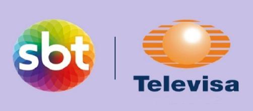 Parceria entre SBT e Televisa.