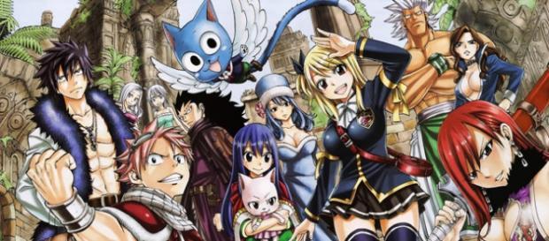 Fairy Tail y sus principales personajes