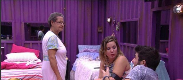 Laham, Cacau e Geralda (Reprodução/Globo)