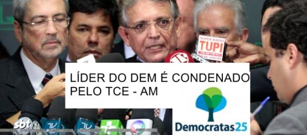 Líder do DEM é condenado pelo TCE