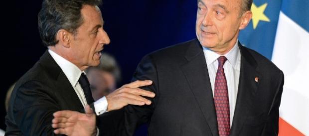 Nicolas Sakorzy et Alain Juppe