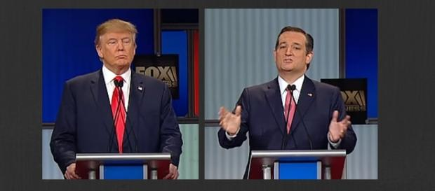 Trump and Cruz Debate Elections 2016